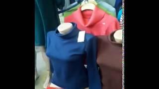 Видео Распродажа женского трикотажа оптом от 100 сом