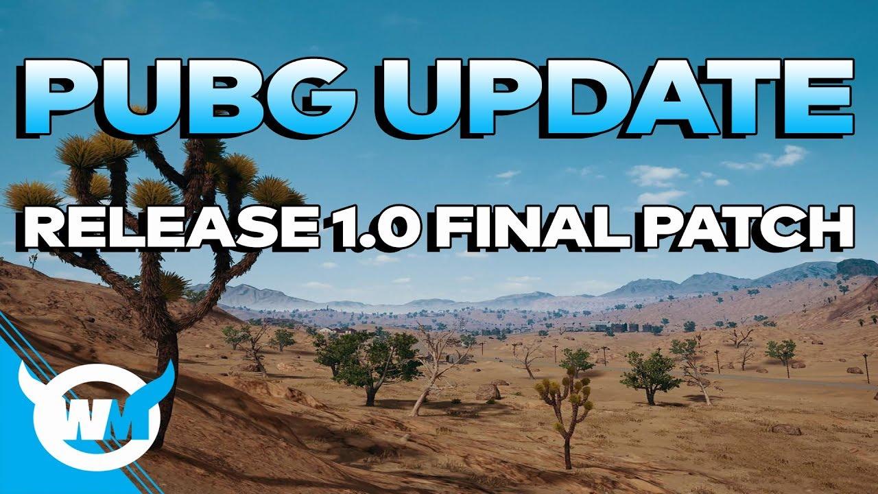 Pubg Update 1.0