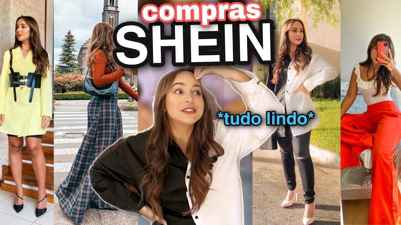 COMPREI na SHEIN 🔥 E DEU MUITO CERTO *mostrei como comprar sem erro*