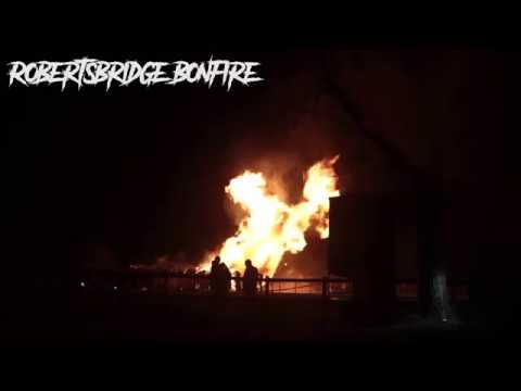 Robertsbridge Bonfire Effigy 2016