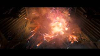 Harry Potter and the Order of the Phoenix - Fred and George fireworks show (HD)