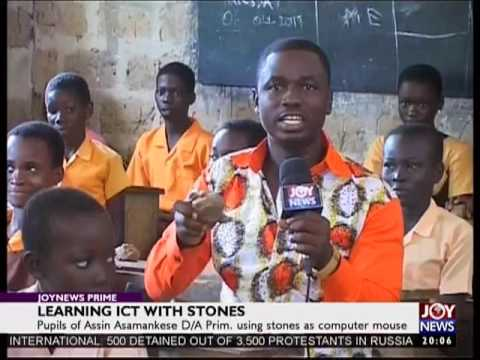 Learning ICT with stones - Joy News Prime (12-6-17)