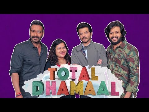 Ajay Devgn, Anil Kapoor and Riteish Deshmukh Interview   Total Dhamaal   MissMalini