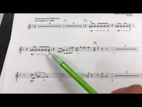 Trumpet Marche Diabolique Counting 13-37
