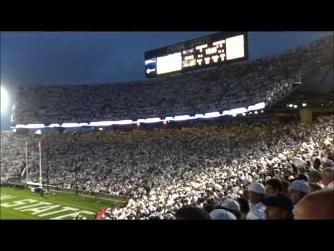Penn State Zombie Nation vs Ohio State - 2012 White Out Game 10/27/12