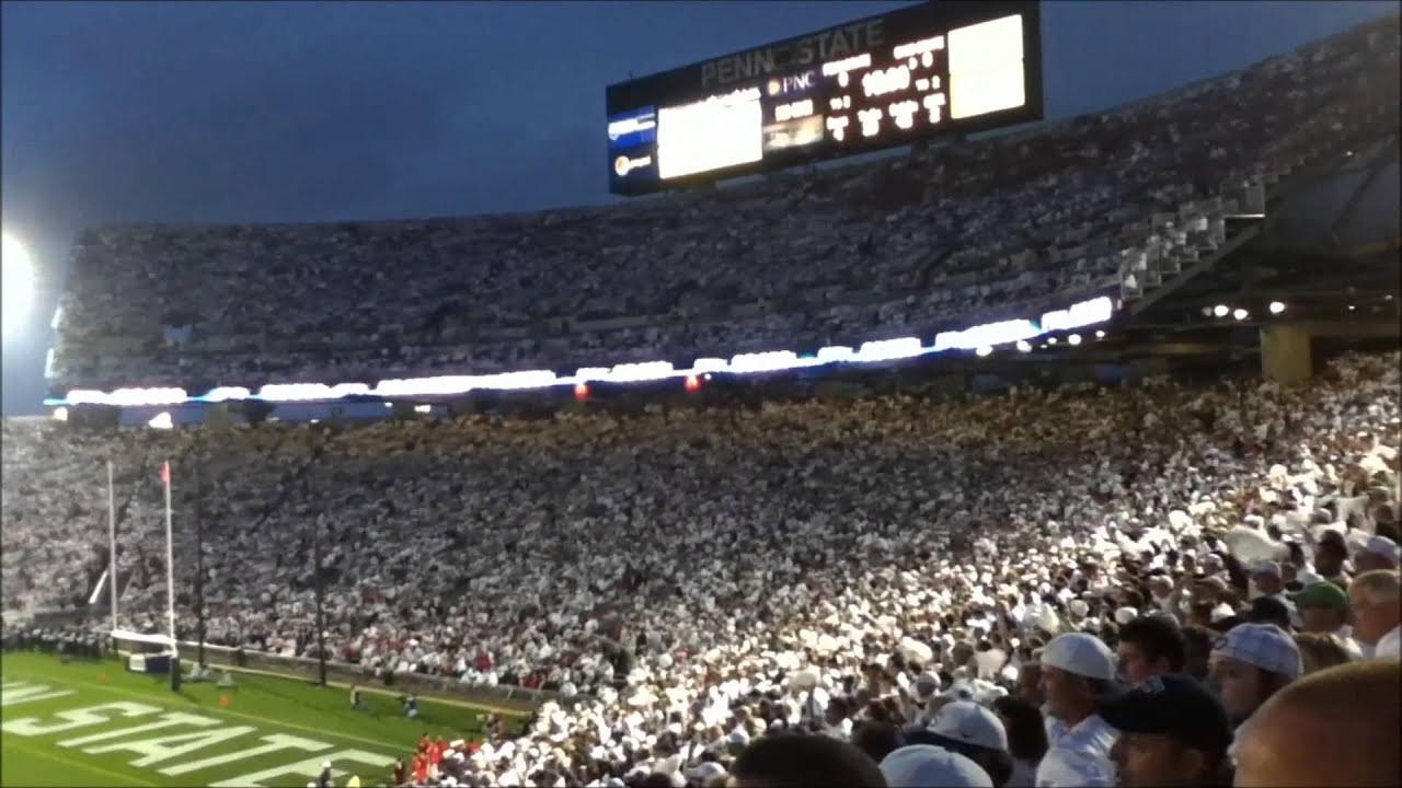 Penn State Zombie Nation vs Ohio State - 2012 White Out ...