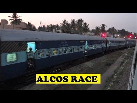 ALCO Mysore Hubli Hampi VS Mysore Arsikere Twilight Race