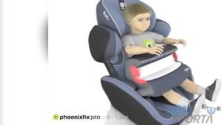 Видео о Детское автокресло Kiddy Phoenixfix pro 2 Phantom