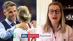 Ellen White reveals the impact Phil Neville has had on her game and the Lioness'
