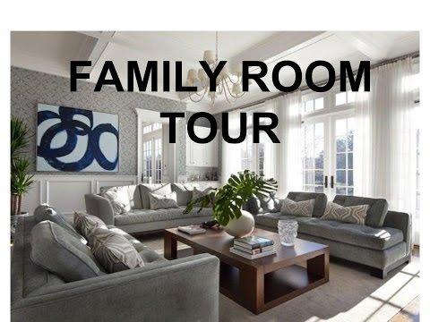 FAMILY ROOM TOUR + HAIR UPDATE!!