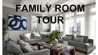 FAMILY ROOM TOUR + HAIR UPDATE!!