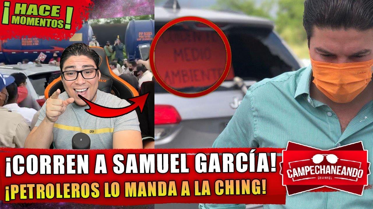 HACE MOMENTOS! CORREN AL SENADOR SAMUEL GARCÍA ¡LE ROMPIERON LA CAMIONETA! ¡SE PUSO FEO ESTO!