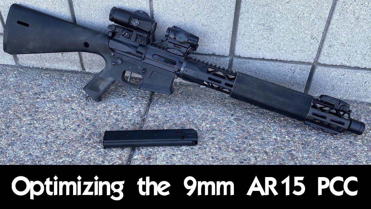Optimizing the 9mm AR15 PCC