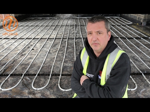 Review of Continental Underfloor heating -  ClipTrack installation