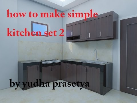 Simple Kitchen Set how to make simple kitchen set 2 - youtube