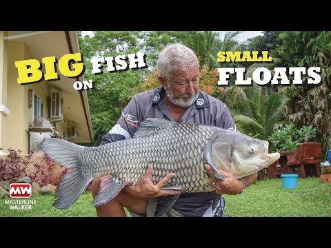 Float Fishing For Monster Fish In Thailand
