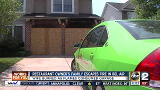 Dog saves restaurant owner's family from house fire in Bel Air