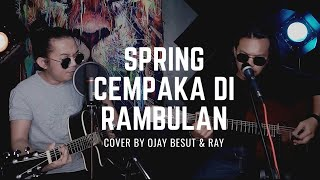 hohoo Menikam jiwa Guys🥀Cempaka Di Rambulan-SPRING || COVER BY OJAY BESUT & Ray