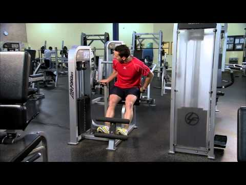 Life Fitness Pro2 Back Extension Instructions
