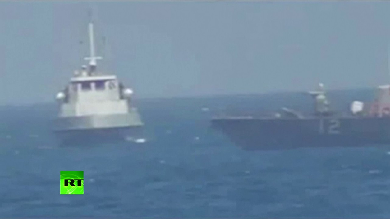 US Navy fires warning shots near Iranian vessel
