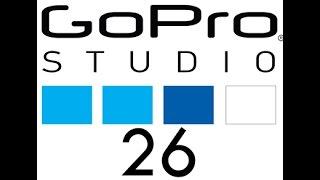 26. GoPro Studio - How to Split Screen