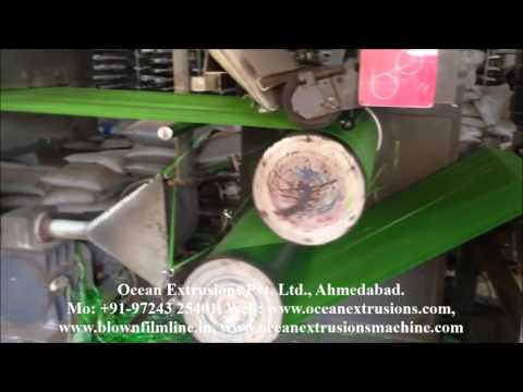 Extrusions Tape Stretching Plant