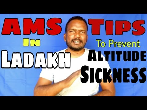 altitude sickness in ladakh. Tips to prevent AMS for You In Hindi.