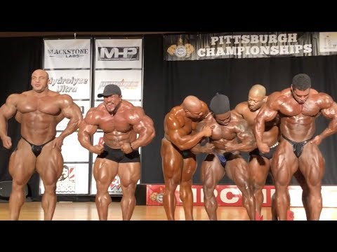 2018 Pittsburgh Pro - Mr O Top 7 Guest Posing!