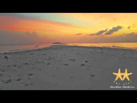 Color Full Sunset at Sandbank
