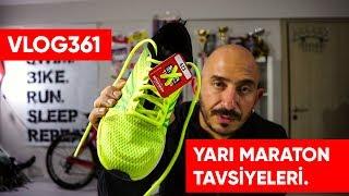 İstanbul yarı maratonu için tavsiyeler, yarış öncesi ve sonrası beslenme | Asla Durma Vlog361