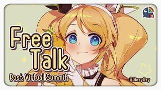 〖Free Talk〗Virtual Summit dan lain-lain【NIJISANJI ID / ZEA Cornelia】