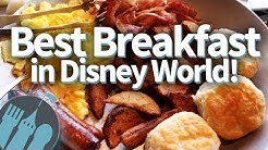 Best Disney World Breakfasts!