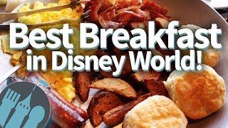 Best Disney World Breakfasts!