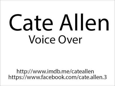 Cate Allen Voice Over Reel