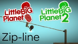 Make A Zip-line (LittleBigPlanet 2/Vita)