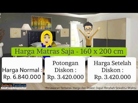Harga Diskon Spring Bed Airland 505 - by Galleria Furniture Bandung