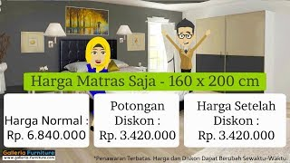 Harga Diskon Spring Bed Airland 505   By Galleria Furniture Bandung