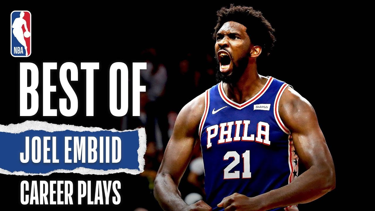 Joel Embiid's BEST Career Plays | #TheOnlyWayIsThrough