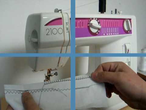 Elna40wmv YouTube Unique Elna 2004 Sewing Machine Price