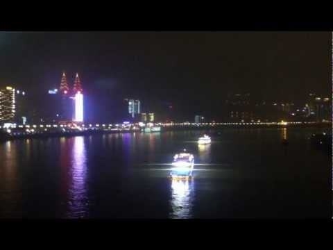 Night View @ The Yangtze River Cable Car, Chongqing, China
