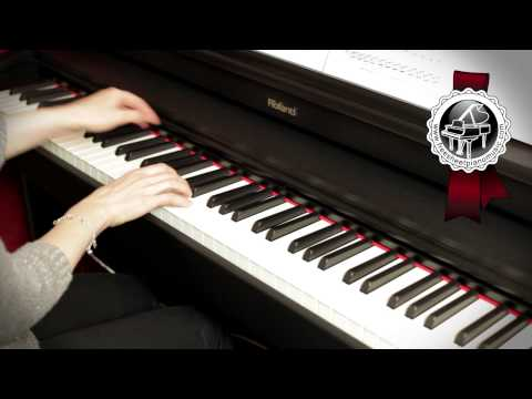 BEETHOVEN  Moonlight Sonata 1 mvt easy piano version