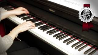"BEETHOVEN - ""Moonlight"" Sonata 1 mvt easy piano version"