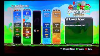 Angry Birds Trilogy Xbox 360 Gameplay 9