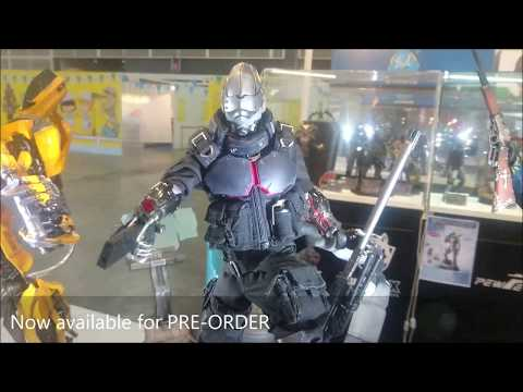 """GATE TOYS X 33 Industry """"Project Obsidian : ZERO"""" 1/6 Scale Figure With Diorama"""