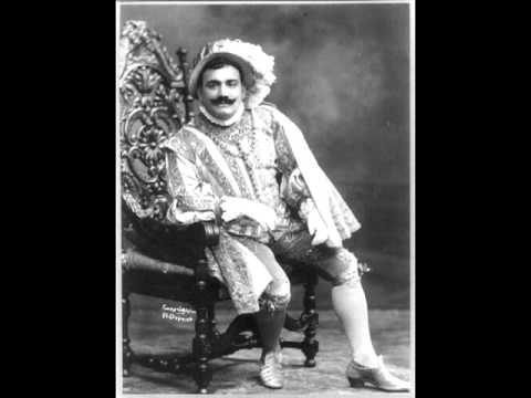 Enrico Caruso sings Siciliana (