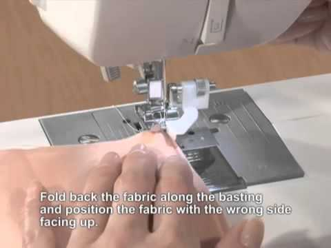 Brother Domestic Sewing Machine Blind Stitch Hemming Foot Tutorial Magnificent Sewing Machine For Hemming