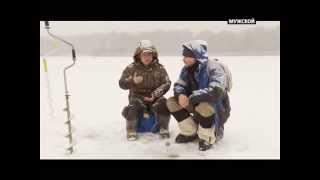 Ловля на чёртика зимой