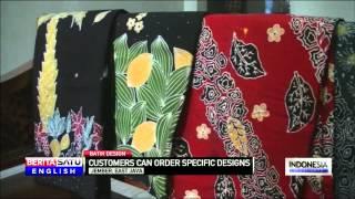 Jember, East Java, Gains Recognition for Tobacco Leaf Styled Batik