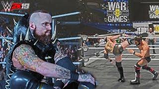 WWE 2K19 Aleister Black INSANE War Games Jacket Attire Mod ft. Double Ring Gameplay & Johnny Gargano