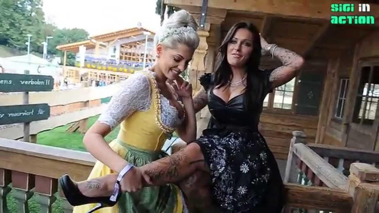 Oktoberfest 2015 - Day 2: Sarah Nowak & Julia Jasmin Rühle @ Käfer ...